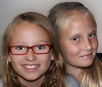 Kids ON AIR Lucy und Evelyn